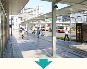 明石駅から明石市まえだ整骨院まで、バスでのアクセス写真03
