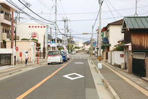 伊川谷から、まえだ整骨院まで車でのアクセス写真03